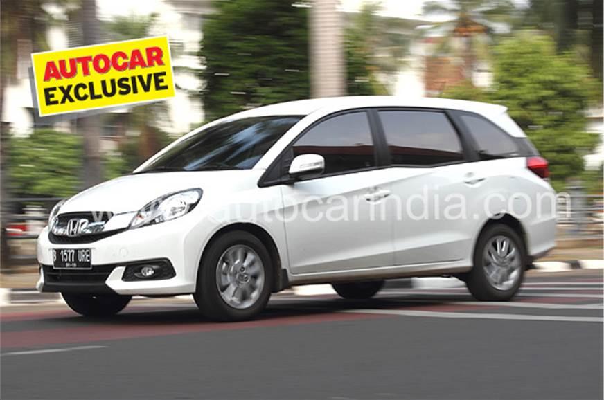 2014 Honda Mobilio Review Test Drive Autocar India