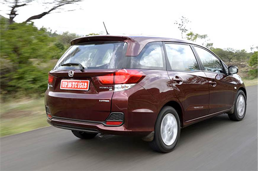 2014 Honda Mobilio India Review Test Drive Autocar India