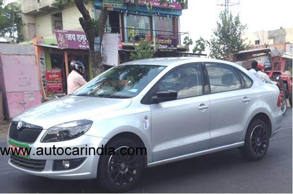 2015 Skoda Rapid Launch On Sep 30 2014 Autocar India