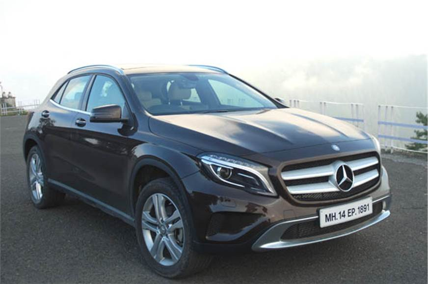 Mercedes Gla Launched At Rs 32 75 Lakh Autocar India