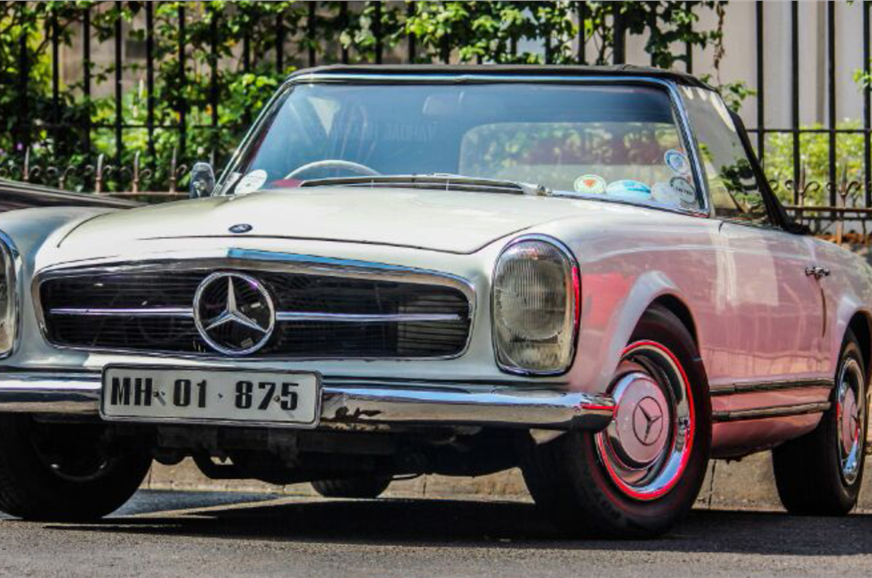 Mercedes-Benz Classic Car rally on Nov 9, 2014 - Autocar India