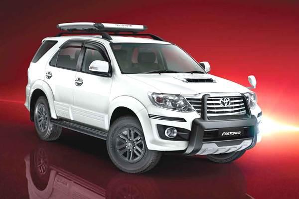 Toyota updates Fortuner, Innova line-up - Autocar India