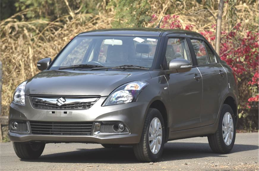 2015 Maruti Swift Dzire facelift first look - Autocar India