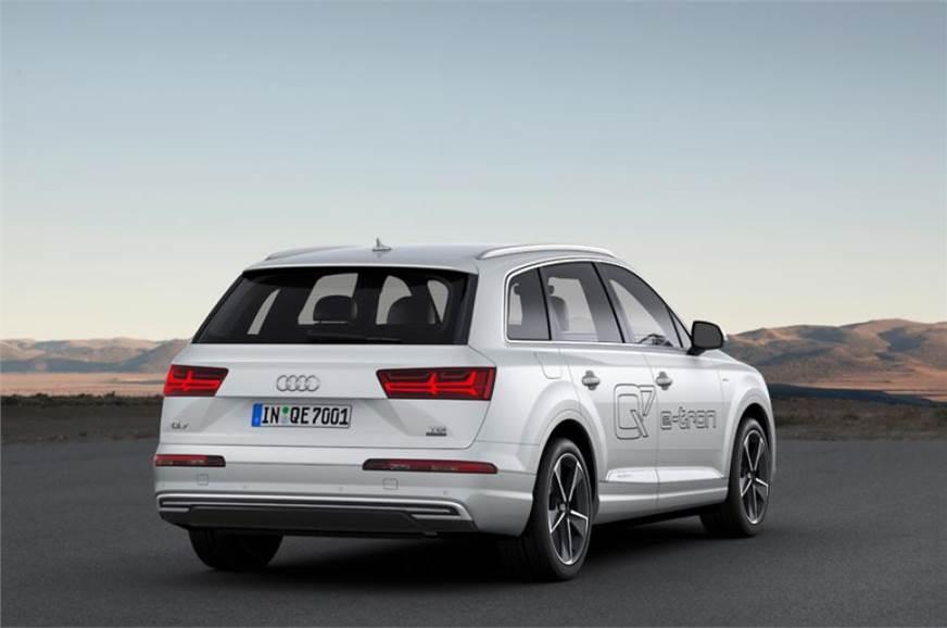 Audi Q7 E Tron Quattro Unveiled