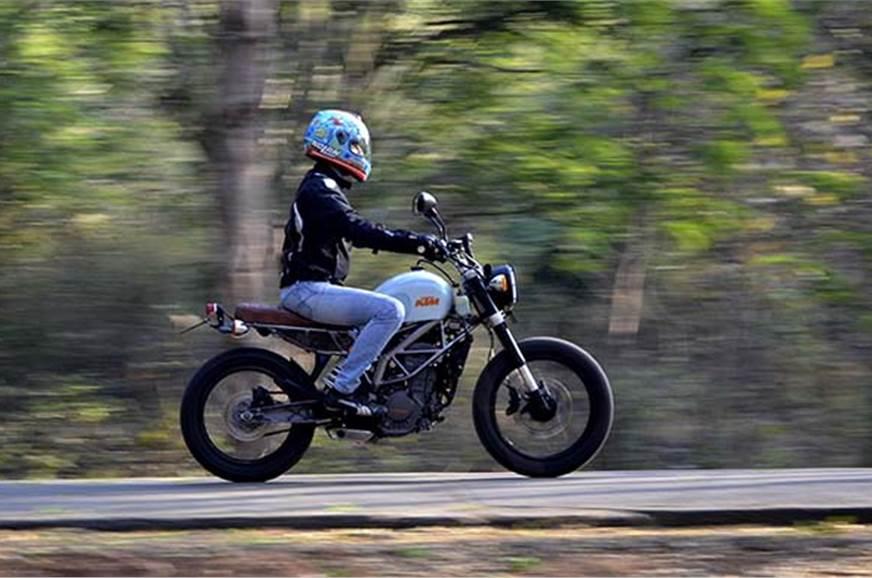 KTM 200 Duke 'Street Tracker' review, test ride - Autocar India