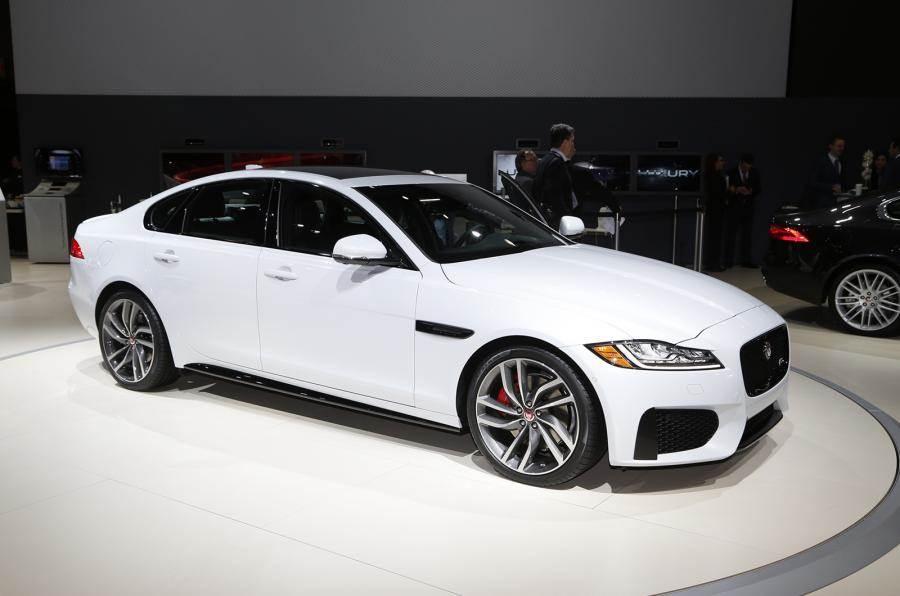 New Jaguar Xf >> New Jaguar Xf Showcased At New York Auto Show Autocar India