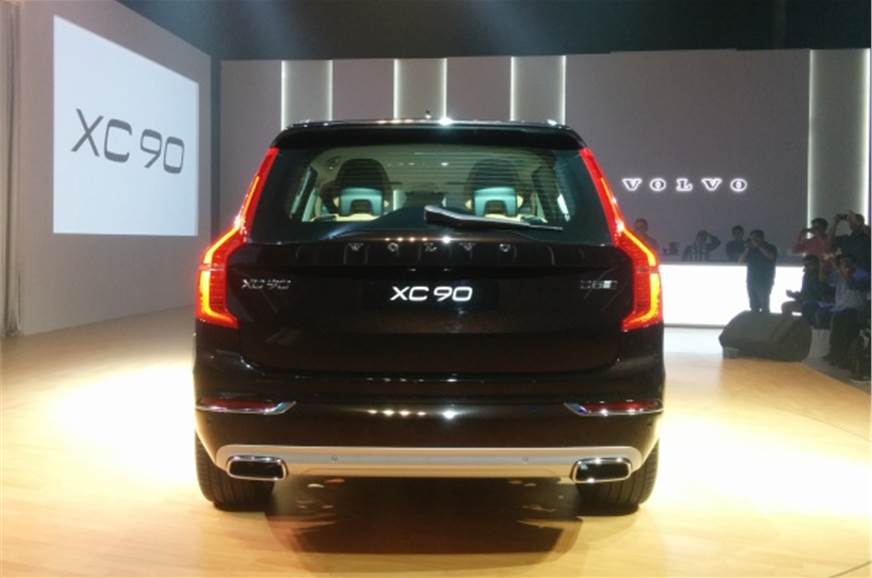 New Volvo Xc90 Suv Launched At Rs 64 9 Lakh Autocar India