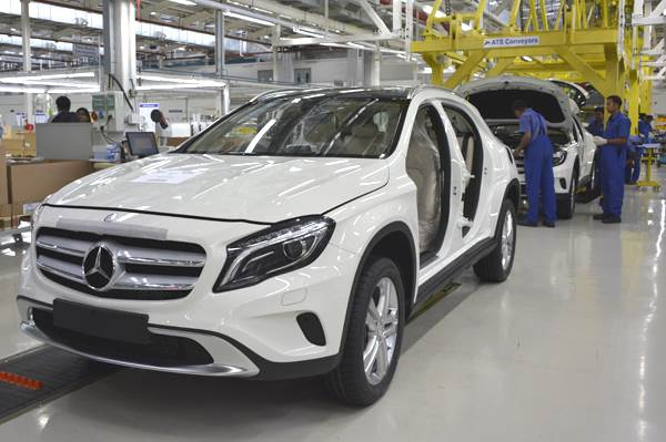 Mercedes Benz Ups Manufacturing Footprint In India