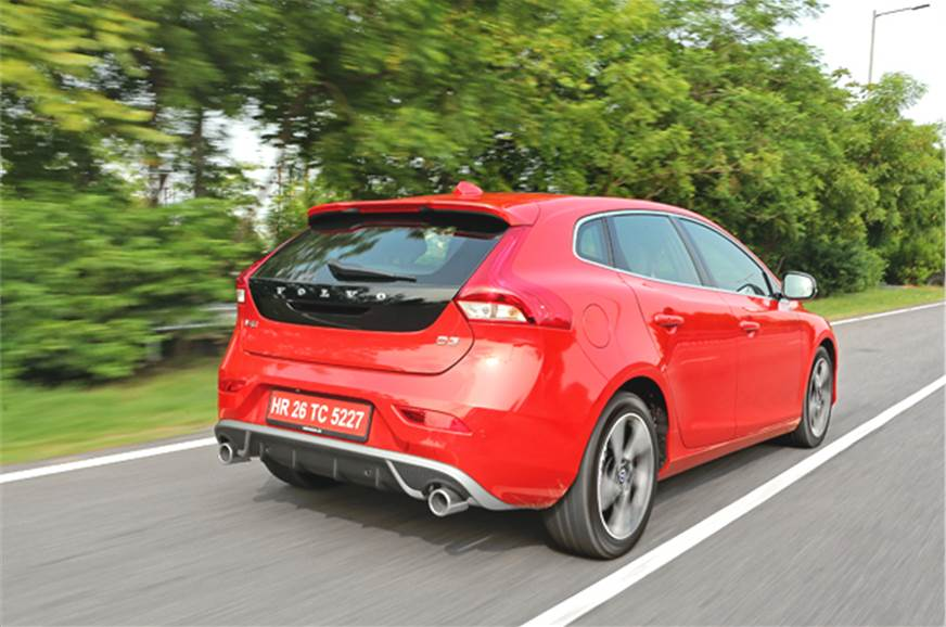 Volvo V40 review, test drive - Autocar India