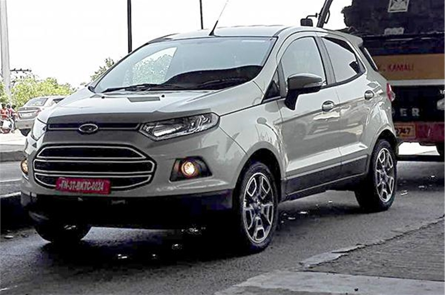 Ford EcoSport to get more power  Autocar India