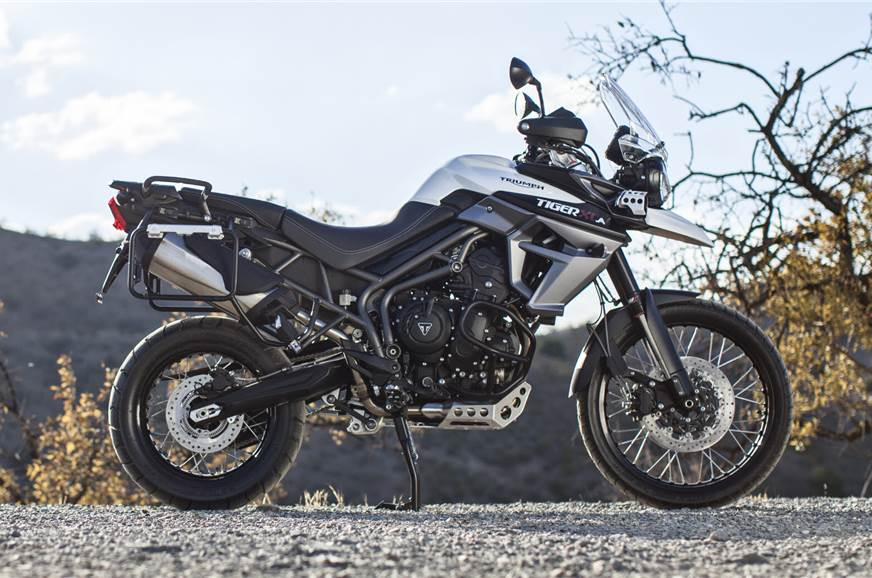 Triumph Tiger 800 Xca Launched At Rs 1375 Lakh Autocar India