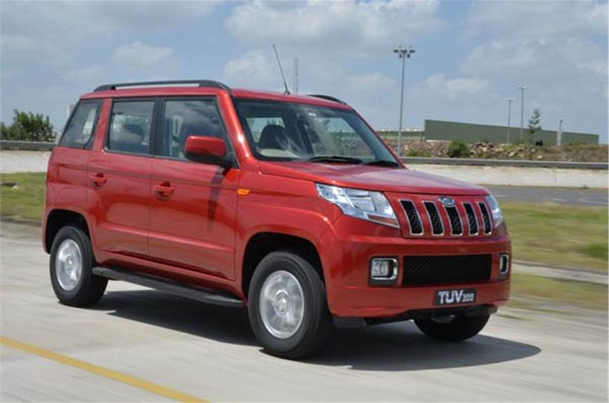 867a5843b Mahindra TUV300 review