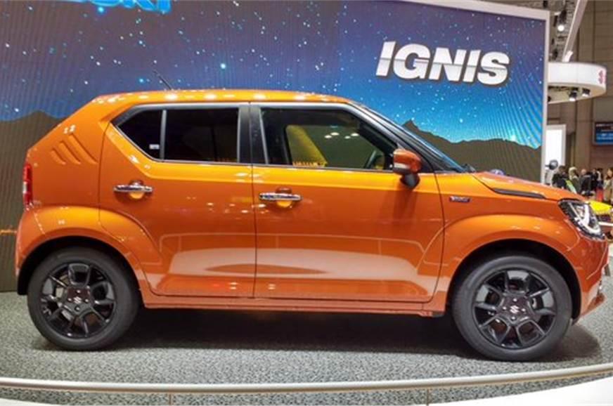 Suzuki Ignis Showcased At Tokyo Motor Show 2015