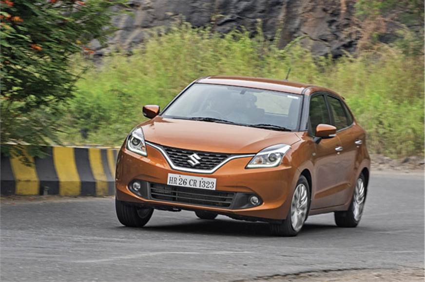 Maruti Baleno Review & Specifications - Baleno Price & features