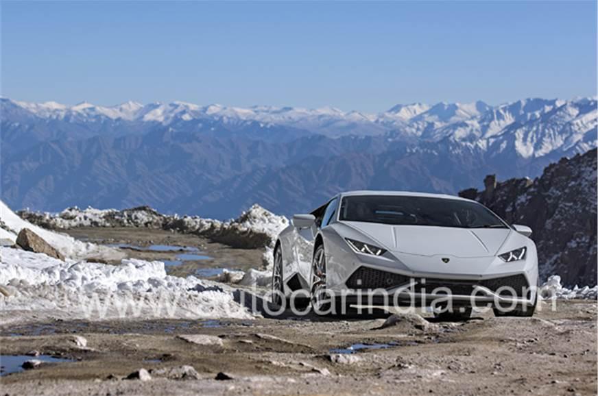 Lamborghini To Khardungla A Long Way To The Top Feature Autocar
