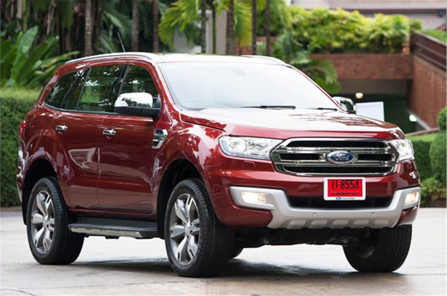 New Ford Endeavour price, variants revealed - Autocar India