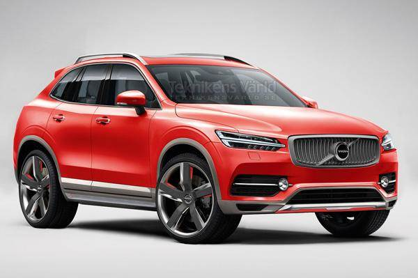 Volvo Xc40 Computer Generated Image