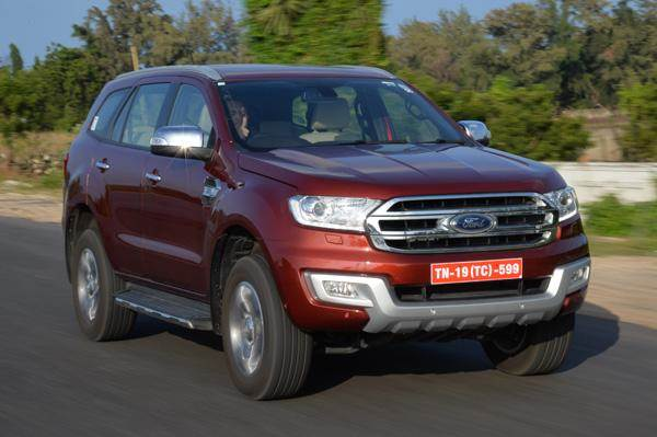 New Ford Endeavour India launch on January 20, 2016