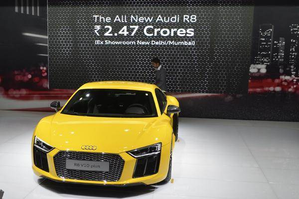 New Audi R8 V10 Plus Launched At Rs 2 47 Crore Autocar India