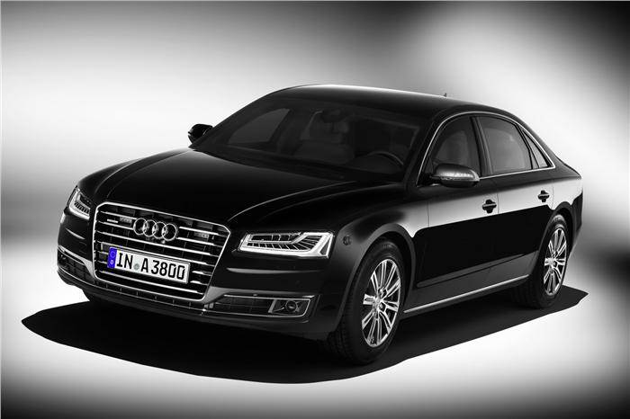 Updated Audi A8 L Security Launched At Rs 9 15 Crore Autocar India