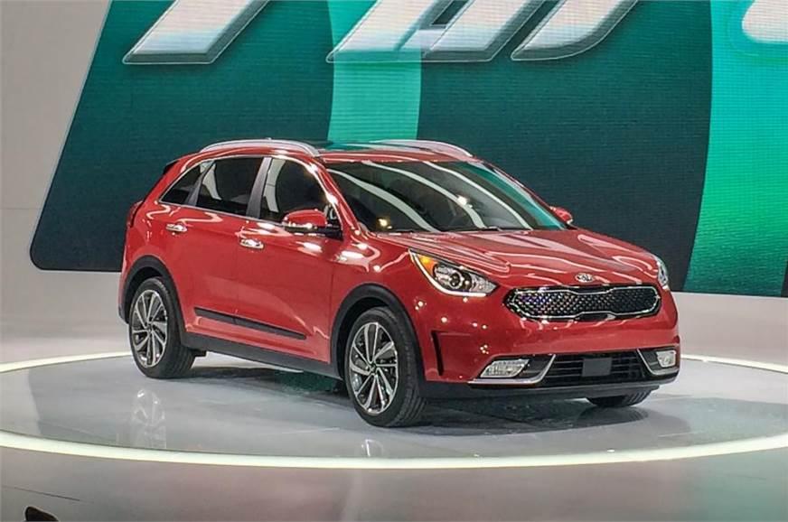 Kia Niro Petrol Electric Hybrid Revealed Autocar India