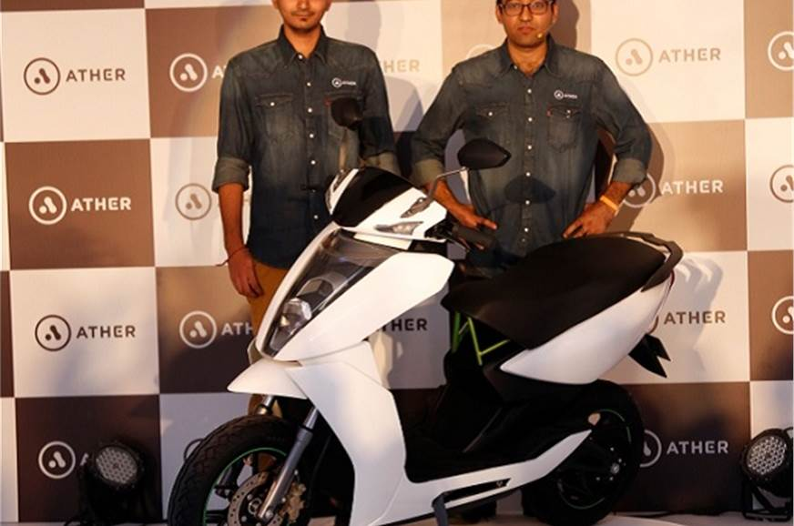 Ather Energy unveils S340 electric scooter - Autocar India