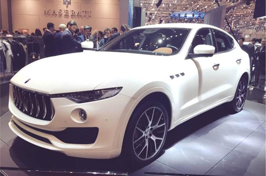 Maserati Levante Suv India Launch In Early 2017 Autocar India