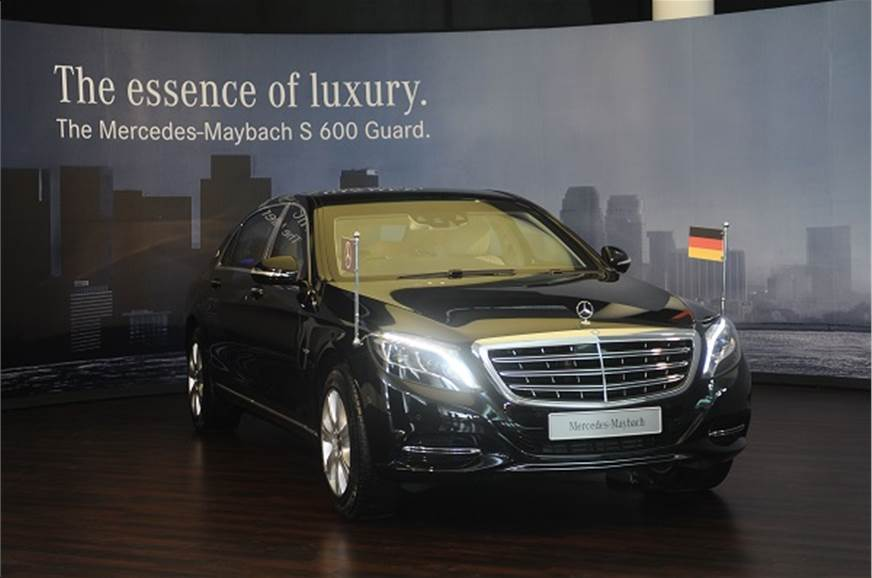 mercedes-maybach s600 guard launched at rs 10.50 crore - autocar india