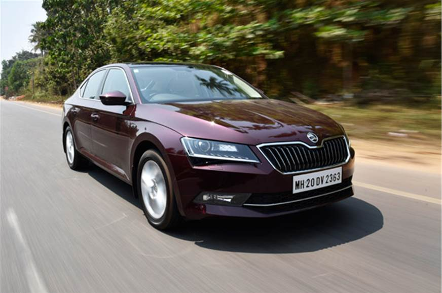 skoda superb 2016 review first drive review autocar india. Black Bedroom Furniture Sets. Home Design Ideas