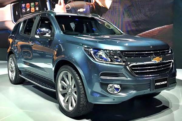 Chevrolet Trailblazer Facelift Revealed At Bangkok Autocar India