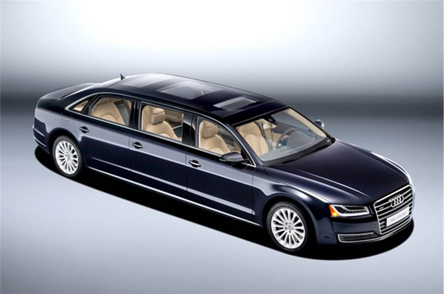 Audi A8 L Extended With Six Doors Revealed Autocar India