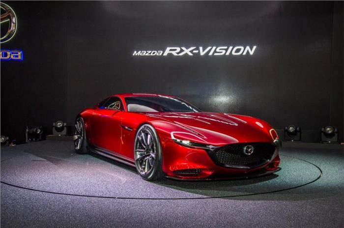 Rotary Engine Cars >> Mazda Working On Turbocharged Rotary Engine Autocar India