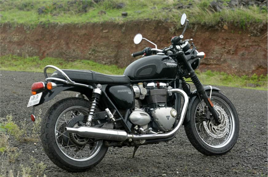 2017 Triumph Bonneville T120 Review Road Test Autocar India