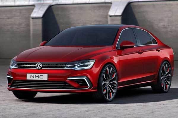 Volkswagen New Midsize Sedan Concept Shown