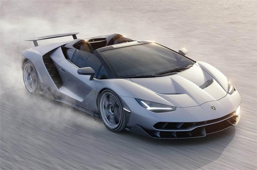 Lamborghini Centenario Roadster Revealed Autocar India