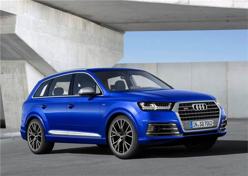 India Bound Audi Sq7 5 Things To Know