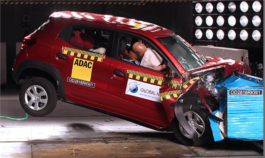 Renault Kwid Honda Mobilio Undergo Gncap Crash Tests Autocar India