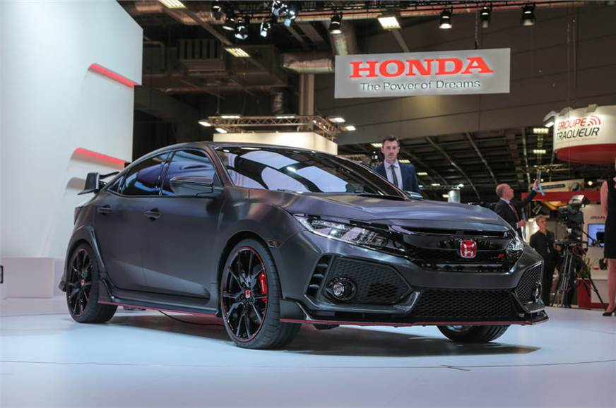 2016 Honda Civic Type R Price >> New Honda Civic Type R Concept Revealed Autocar India