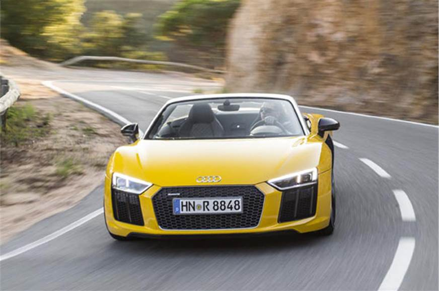 2016 Audi R8 V10 Spyder Review Price Specifications