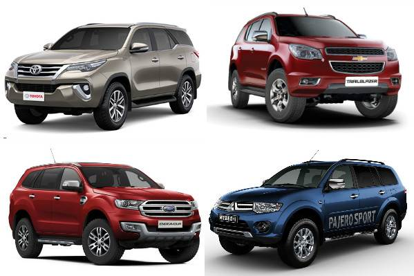New Toyota Fortuner vs rivals: Specifications comparison