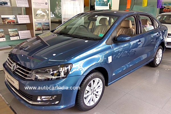 More Powerful Volkswagen Vento Diesel Now On Sale Autocar India