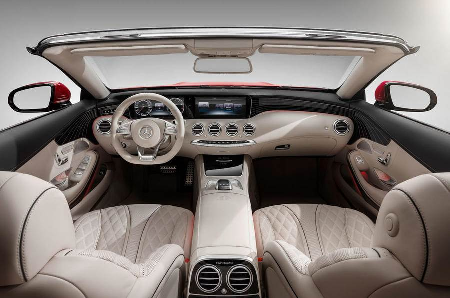 Mercedes Maybach S650 Cabriolet Revealed Autocar India