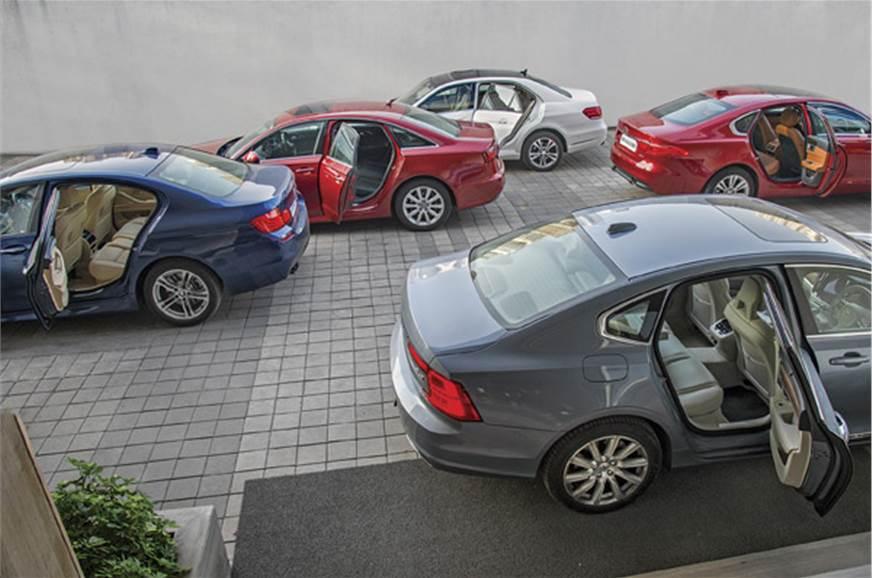 Volvo S90 vs Jaguar XF vs BMW 520d vs Mercede E 250 CDI vs