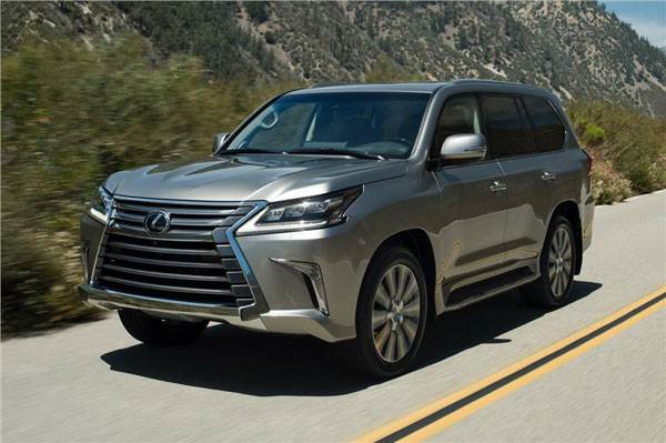 2017 Lexus Lx570 Lx450d Expected Price Specifications And Features