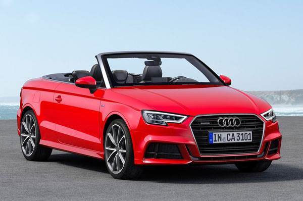 2017 Audi A3 Cabriolet Facelift Prices Specifications Interiors