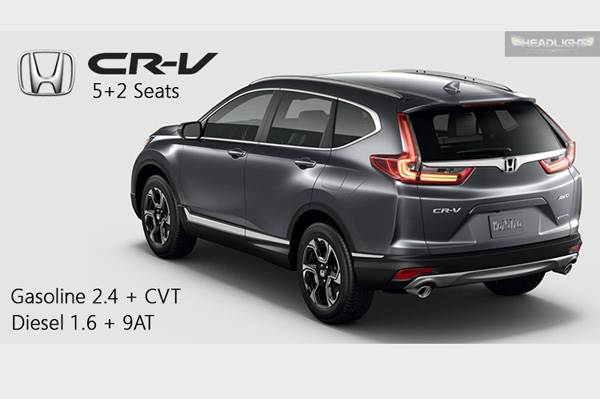 new honda cr v diesel india launch date specifications interior autocar india. Black Bedroom Furniture Sets. Home Design Ideas