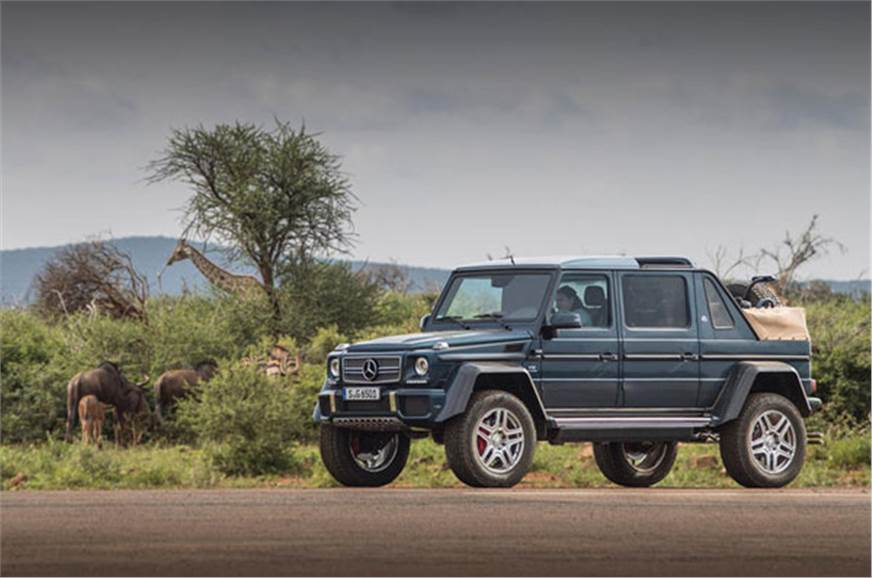 mercedes-maybach g650 landaulet: a close look - feature - autocar india
