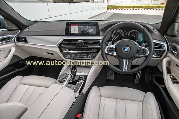 2017 Bmw 5 Series India Review Interior Specifications Images Autocar India