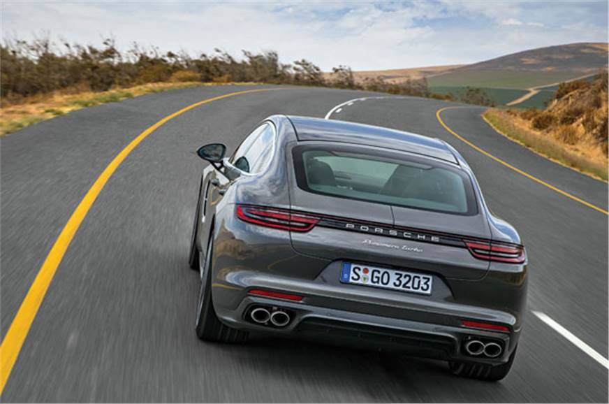 2017 Porsche Panamera Turbo Executive Review Specifications Interiors Price Images Autocar India