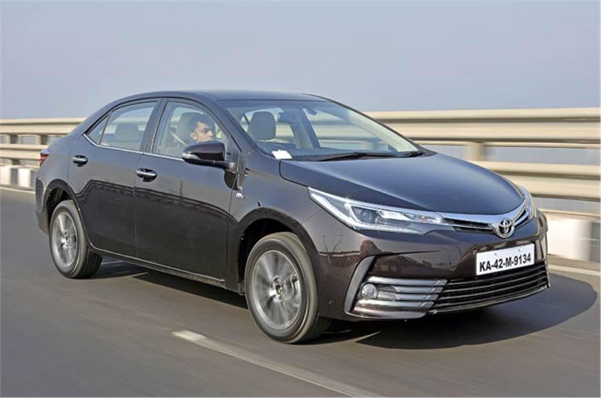 2017 Toyota Corolla Altis Facelift Price Equipment
